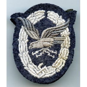 Luftwaffe Radio Operator / Airgunner padded cloth variant