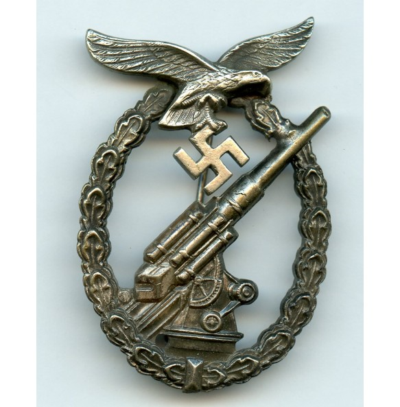 Luftwaffe flak badge by F. Linden