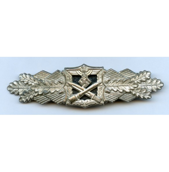 "Close combat clasp in silver, 1st pattern by Josef Feix ""JFS"""