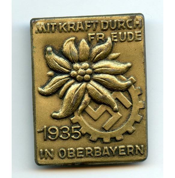 """Tinnie """"Mit Kraft dürch Freude, Oberbayern 1935"""""""