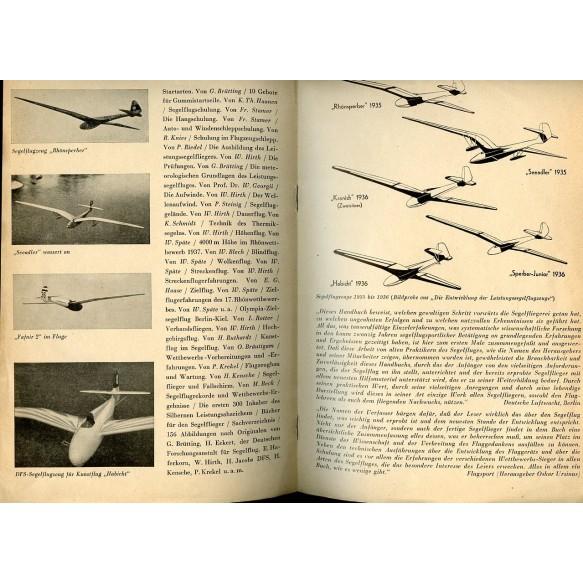 HJ/Civil glider pilot brochure