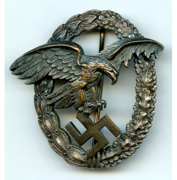"Luftwaffe observer badge by W. Deumer ""D1"""
