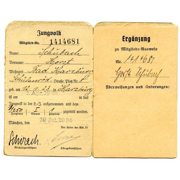 "HJ district 8 ""Niedersachsen"" pass"