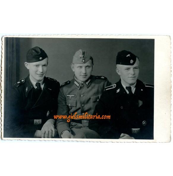 Portrait SS Panzer Division Leibstandarte SS Adolf Hitler