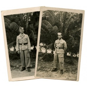 2 private snapshots tropical Luftwaffe in Italy