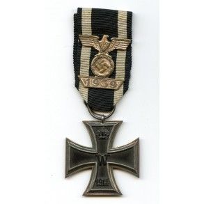 Iron Cross 2nd class combo with Iron Cross clasp 2nd class by W. Deumer