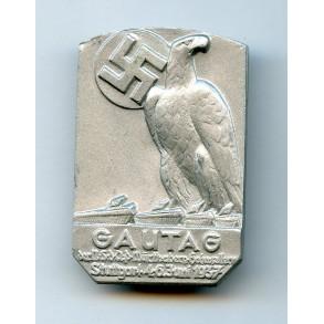 """Tinnie """"Gautag NSDAP Württemberg-Höhenzollern, Stuttgart 4-6 Juni 1937"""""""
