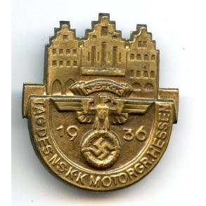 "Tinnie ""Tag des NSKK Motorgruppe Hessen 1936"""