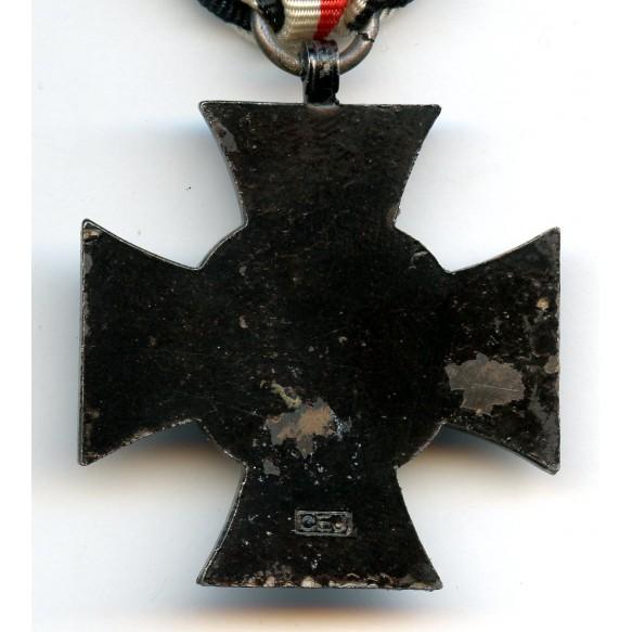 """1914-1918 Honour cross for widows by C.E. Juncker """"CEJ"""""""