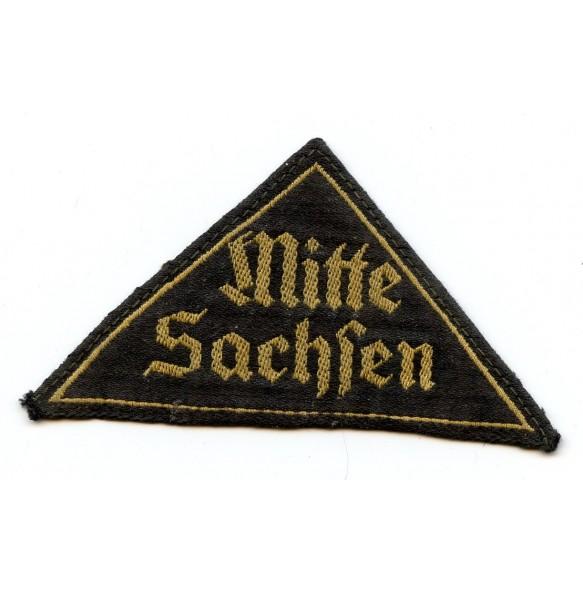 """HJ/DJ district """"Mitte Sachsen"""" triangle"""