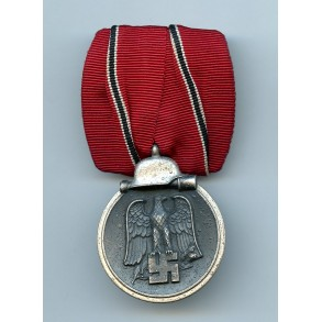 East front medal single mounted.