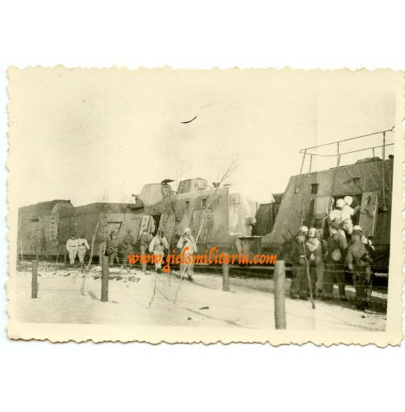 "Private snapshot ""Panzerzug"", panzer train"
