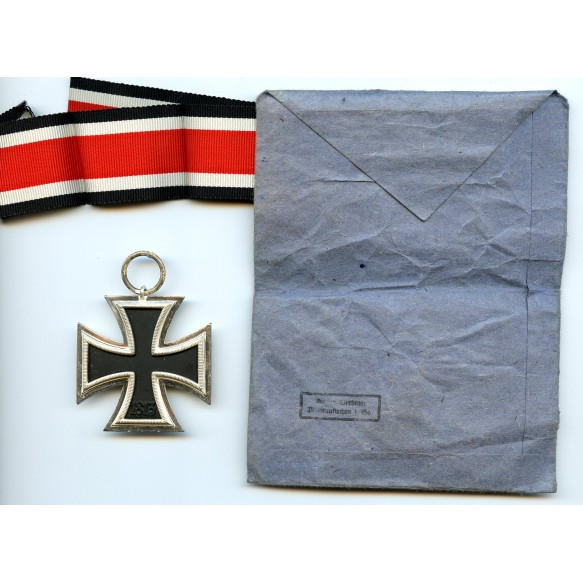 Iron Cross 2nd class by G. Brehmer + package