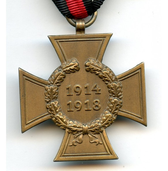 1914-1918 Honour cross without swords