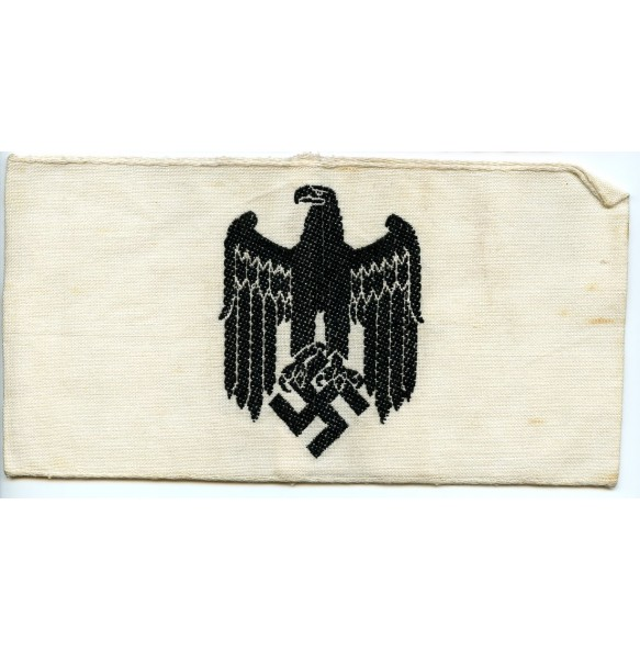 German Wehrmacht white armband