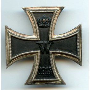 WW1 Iron cross 1st class by W. Deumer