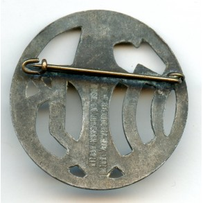 Wehrmacht Auxiliary Forces pin by C.E. Juncker