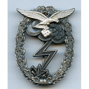 Luftwaffe ground assault badge by G.H. Osang