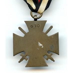 "1914-1918 Honour cross with swords ""G10"""