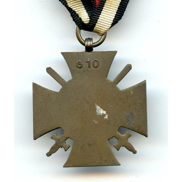 "1914-1918 Honour cross with swords ""G10"""