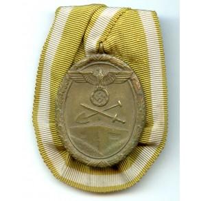 Westwal medal single mounted