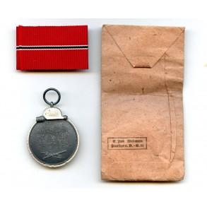 East front medal by E. Ferd. Wiedmann + package