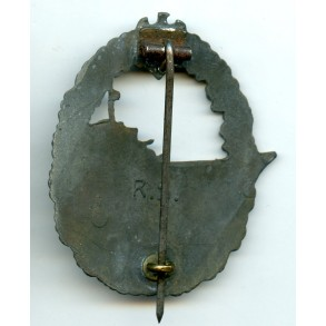 Kriegsmarine destroyer badge by R. Souval.