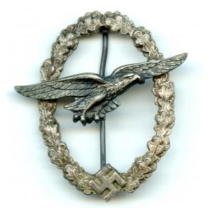 Luftwaffe glider pilot badge by C.E. Juncker