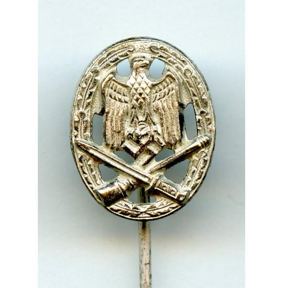 General assault badge 16mm miniature
