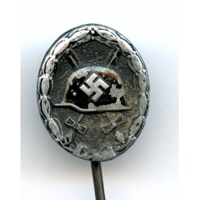 """Wound badge in black 16mm miniature """"chaos dot pattern"""""""