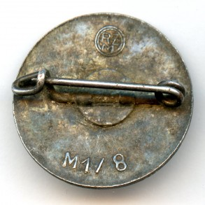 "Party pin by F. Wagner ""M1/8"""