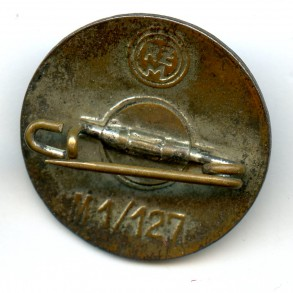 "Party pin by A. Stübbe ""M1/127"""