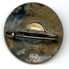 "Party pin by K. Hensler ""M1/6"""