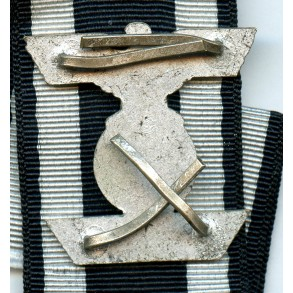 Iron cross clasp 2nd class by W. Deumer