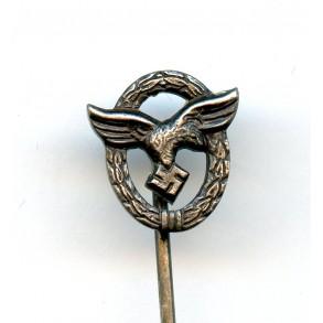 Luftwaffe pilot badge 9mm miniature