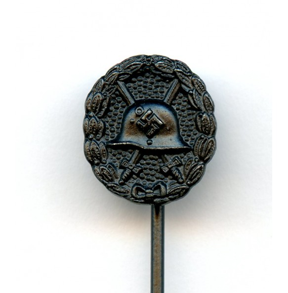Wound badge in black 1st pattern 12 mm miniature