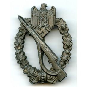 "Infantry assault badge in bronze by F. Linden ""FLL"""