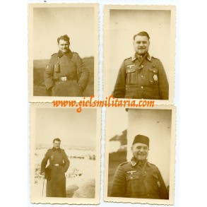 4 private snapshots Croatian Wehrmacht volunteer 1943