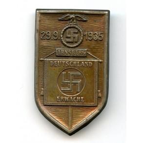 """Tinnie """"Deutschland Erwache, Arnsberg 1935"""""""