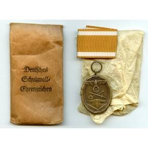 Westwall medal by A. Martovskis, Gablonz