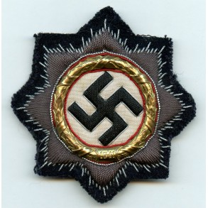 Kriegsmarine German cross in gold, cloth variant