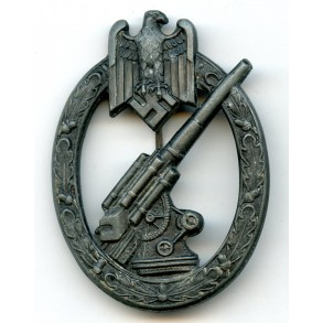 Army flak badge by H. Aurich