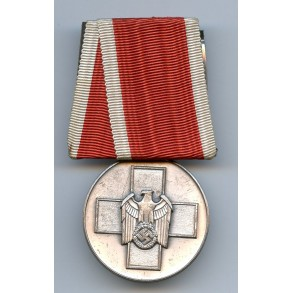 Social welfare medal, single mounted