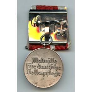 Social welfare medal, single mounted