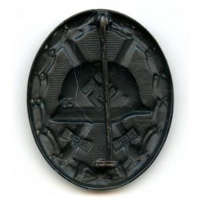"""Wound badge in black by Klein & Quenzer """"65"""""""