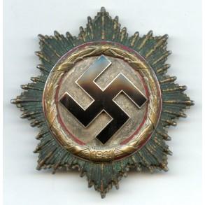 German Cross in silver by Deschler & Sohn, München