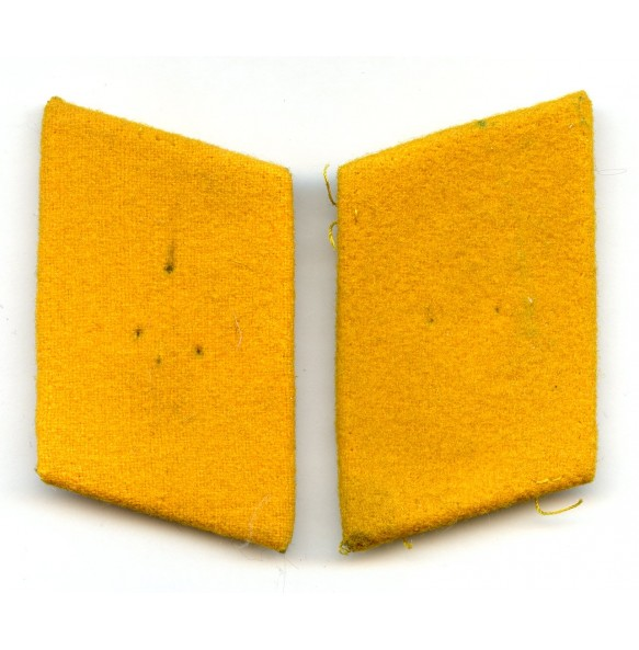 Luftwaffe flight troops yellow collar tabs