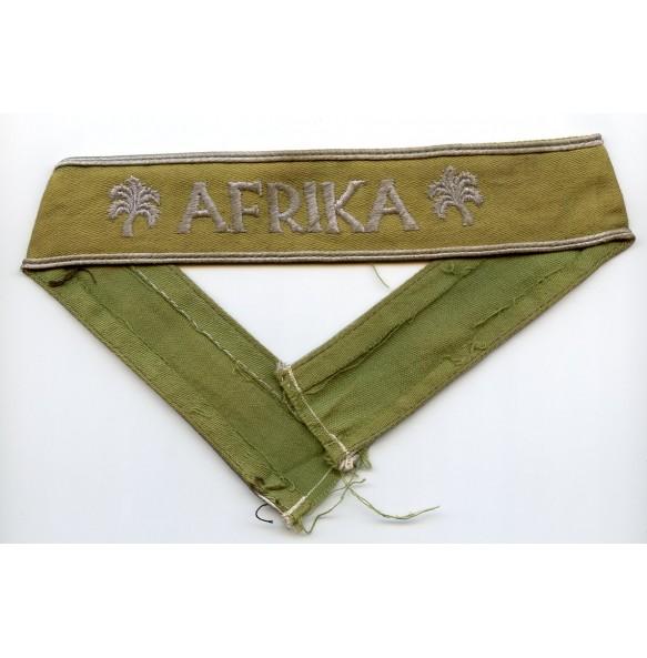 Afrika cufftitle, green canvas variant!!