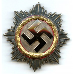 German Cross in gold by Deschler & Sohn, 6 rivets Deschler