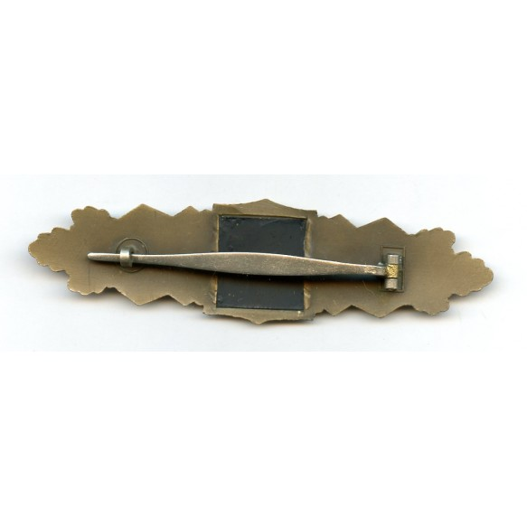 1957 close combat clasp in bronze by Steinhauer & Lück